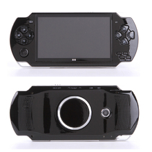 Handheld Game Console 4.3 inch screen mp4 player MP5 game player real 8GB support for 8Bit 16bit 32bit games,camera,video,e-book цены