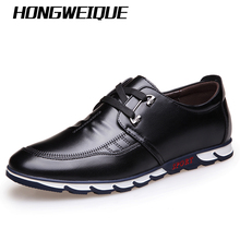2016 autumn men shoes casual shoes lacing low shoes boys fashion the trend of shoes Black Brown