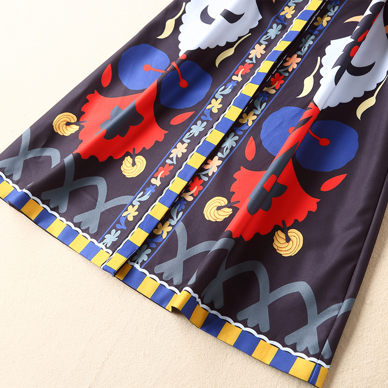 Robe O Femmes Droite Indie Ceintures Folk Tempérament Multi cou Imprimer Ziwwshaoyu Slim D'été Mode Printemps Et Nouvelles Tcl1FKJ