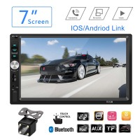 Radio Car General Models 7'' Autoradio Touch Screen Car Radio 2 Din Player Bluetooth Car Audio Stereo Support Rear View Camera