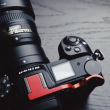 High Quality Metal Thumb Rest Grip UP Aluminum Hot Shoe Cover For Nikon Z7 Z6  Series Protection
