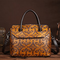 Новый первый слой кожи мода ручной протрите женщин ретро сумки ретро сумки на ремне, досуг сумки