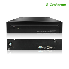 16CH 4K 32CH 5MP H.265 NVR enregistreur vidéo réseau 2 HDD 24/7 enregistrement Onvif 2.6 P2P pour système de sécurité de caméra IP G. Cartisan