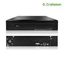 16CH 4K 32CH 5MP H.265 NVR sieciowy rejestrator wideo 2 HDD 24/7 nagrywanie Onvif 2.6 P2P dla systemu bezpieczeństwa kamery IP G.Ccraftsman