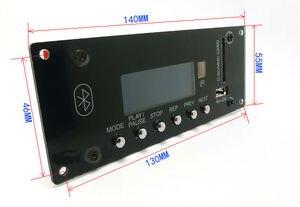 Image 2 - DC12V BT Bluetooth 4.0 מודול MP3 לוח פענוח SD APP בקרה USB כרטיס MMC FM APE FLAC WAV WMA מפענח לוח כחול LED