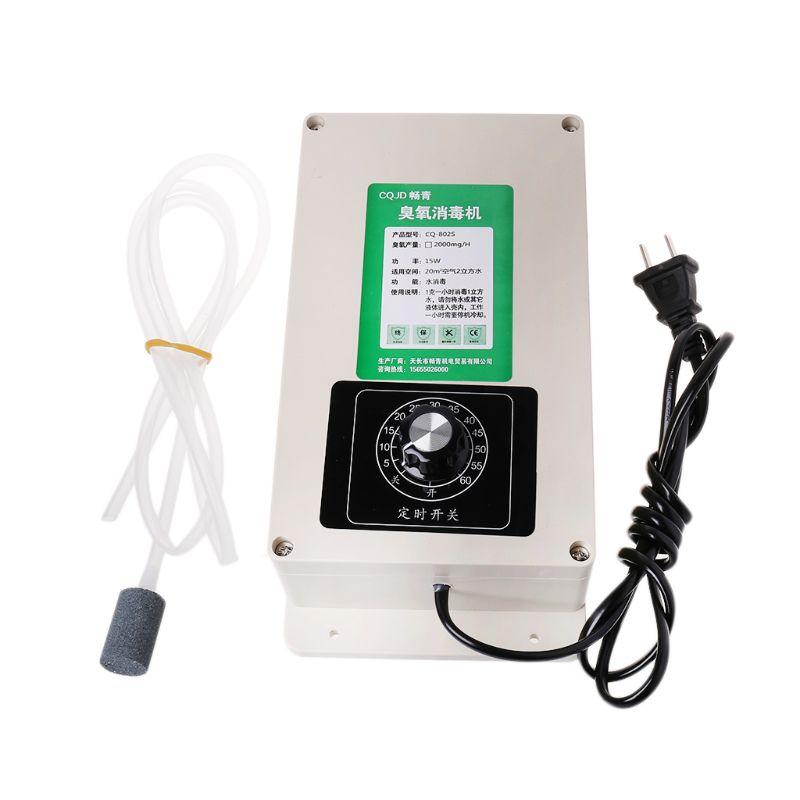 2000mg Ozon Generator Luft Reiniger Maschine Geruch Reiniger Air Sanitizer Lotus Desinfektion System