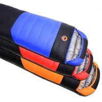 Camcel ultralight camping sleeping bag white duck down sleeping bag sleeping bag for 2300g
