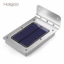 Holigoo 16 LED Solar Light Outdoor Wall Lamp Wireless Motion Sensor LED