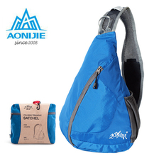 AONIJIE Foldable Women Men Cycling Triangle Messenger font b Bag b font Shoulder Sling Cross Body