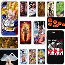 SHELI Anime Vegeta Dragon Ball Z Son Gohan Frosted Zachtheid Transparant case cover voor iPhone X XS XR MAX SE 5 5 s 6 6 s 7 8 Plus(China)