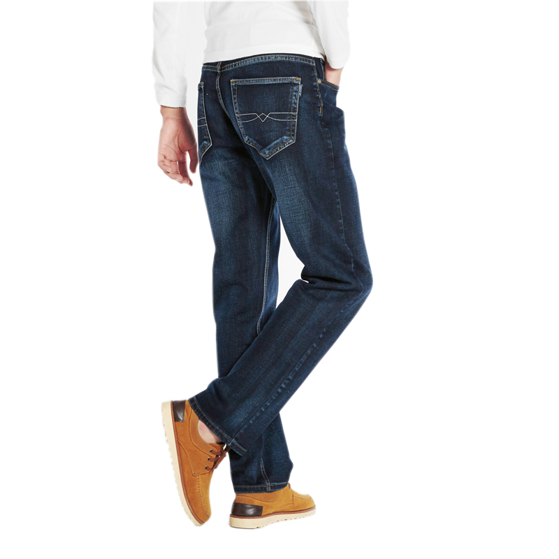 Oversized   jeans   fat 300 pounds extra large fat PANTS Big men 160kg stretched trousers 6XL 7XL 8XL 60 big Size Plus loose male