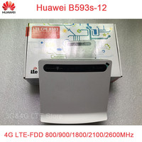 Huawei B593s 12 B593 3g 4g Lte Wireless Router 4g Cpe Mifi Dongle Lte 4g Wifi