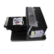 Multi-Fungsi A4 DTG Flatbed Printer Direct To Garment T-shirt Mesin Cetak untuk Dark Light Tshirt Ponsel Case Plastik kartu(China)