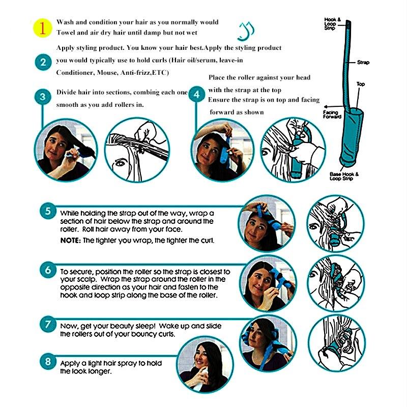 12 τεμάχια / παρτίδα styler ύπνου 2017 - Περιποίηση και στυλ μαλλιών - Φωτογραφία 6