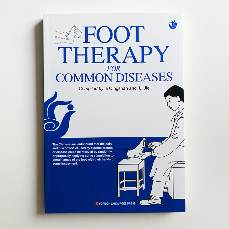 Foot Therapy for Common Diseases English Edition Book Chinese Traditional Medicine Book about Self Care Paperback famous comic book about mom and dad come from quadratic element in chinese edition