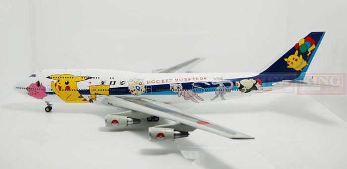 цена  BBOX8965 B747-400 JA8965 POKETMONSTER BBOX 1:200 ana commercial jetliners plane model hobby  онлайн в 2017 году