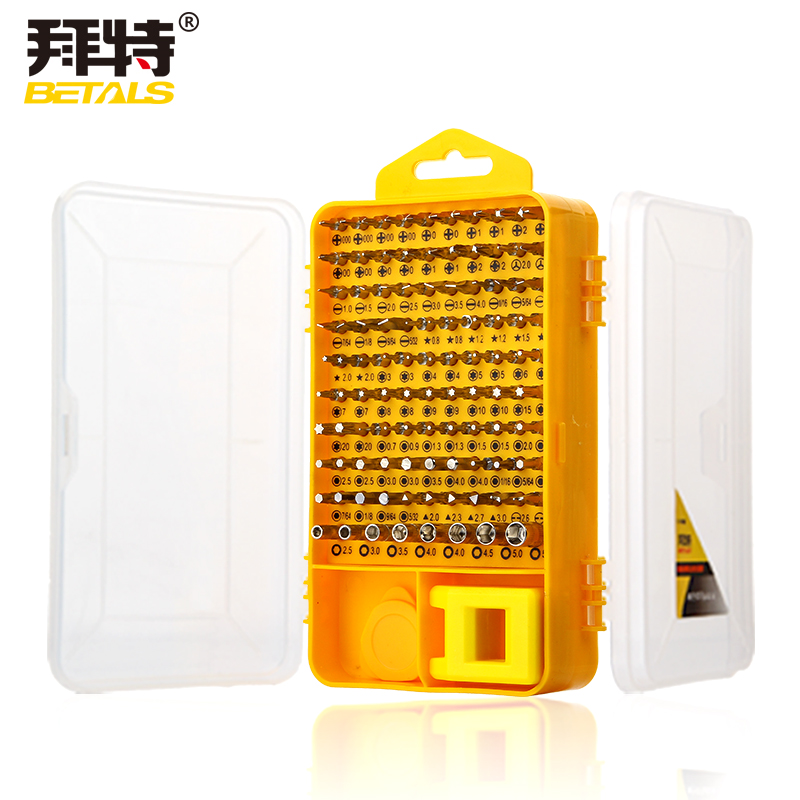 10Precision Screwdriver Sleeve Group Sets Multi-function CR-V Computer Digital Mobile Phone Essential Repair Tools