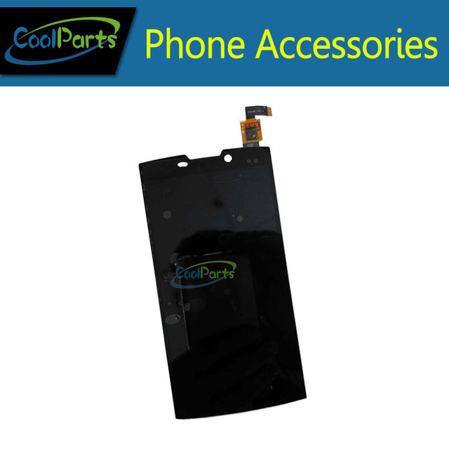 """Black Color High Quality For Highscreen Boost 2"""" LCD Display and Touch Screen Digitizer Assemble Replacement 1PC/Lot"""