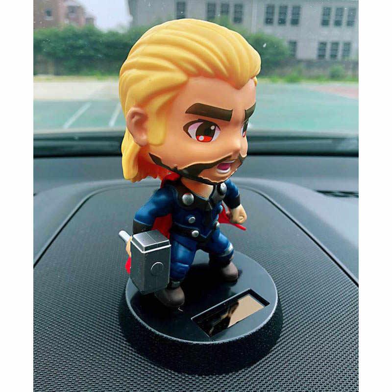 Автомобиль кукла украшения качающаяся голова игрушки креативный пластиковый материал аниме Тор подарок Большой Герой украшение приборной панели авто аксессуары