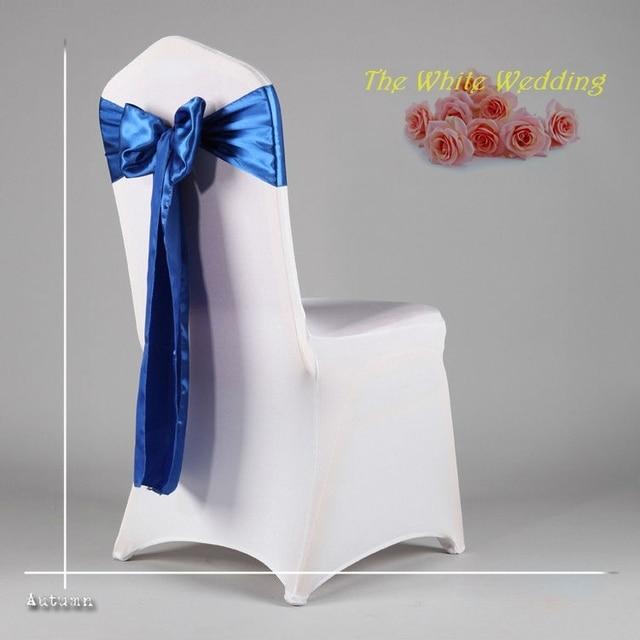 free shpping 100pcs lot cheap navy blue chair sash for wedding