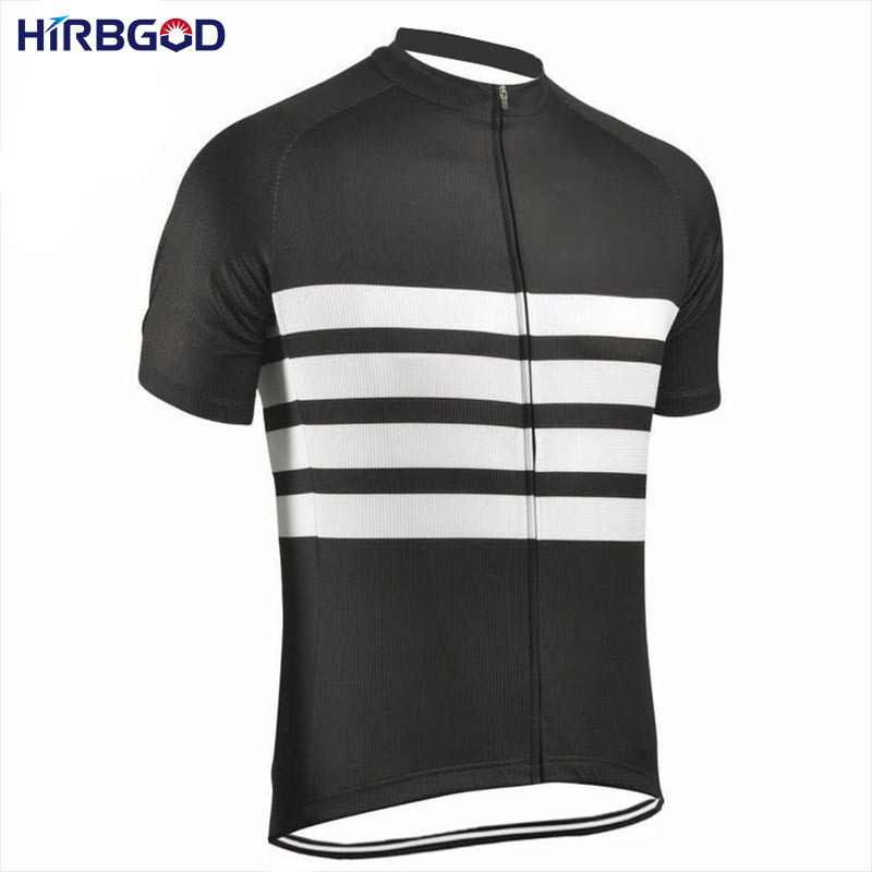 HIRBGOD 2017 Maillot Ciclismo Hombre Verano Velosiped Geyim Yay Qısa - Velosiped sürün - Fotoqrafiya 1