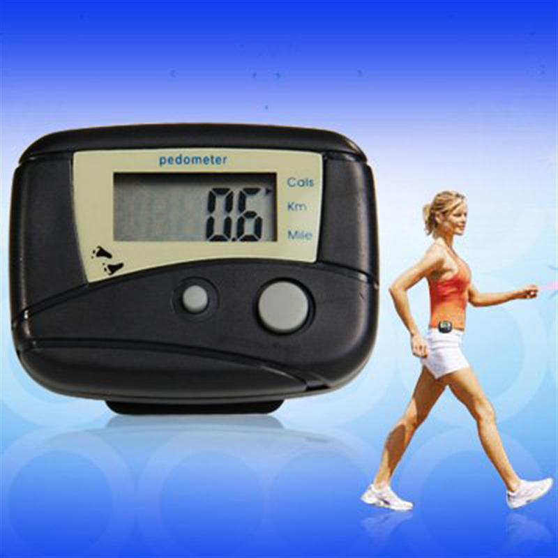 Digital Pedometer Calorie-Counter Multi-Functional Steps Walking-Distance Portable Lcd-Display