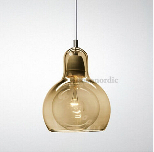 Nordic brief personalized big bulb glass pendant light 11cm amber nordic brief personalized big bulb glass pendant light 11cm amber glass lampshade light lighting fixtures110 240v bar lamp light in pendant lights from aloadofball Gallery