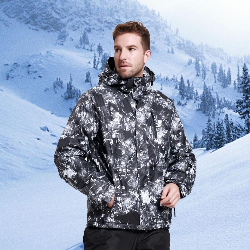 Veste et pantalon de Ski pour hommes veste de neige pour Sports de plein air d'hiver