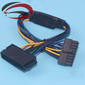 PSU ATX 24Pin to 18Pin Adapter Converter Power Cable Cord for HP Z420 Z620 Desktop Workstation Motherboard 18AWG 30CM