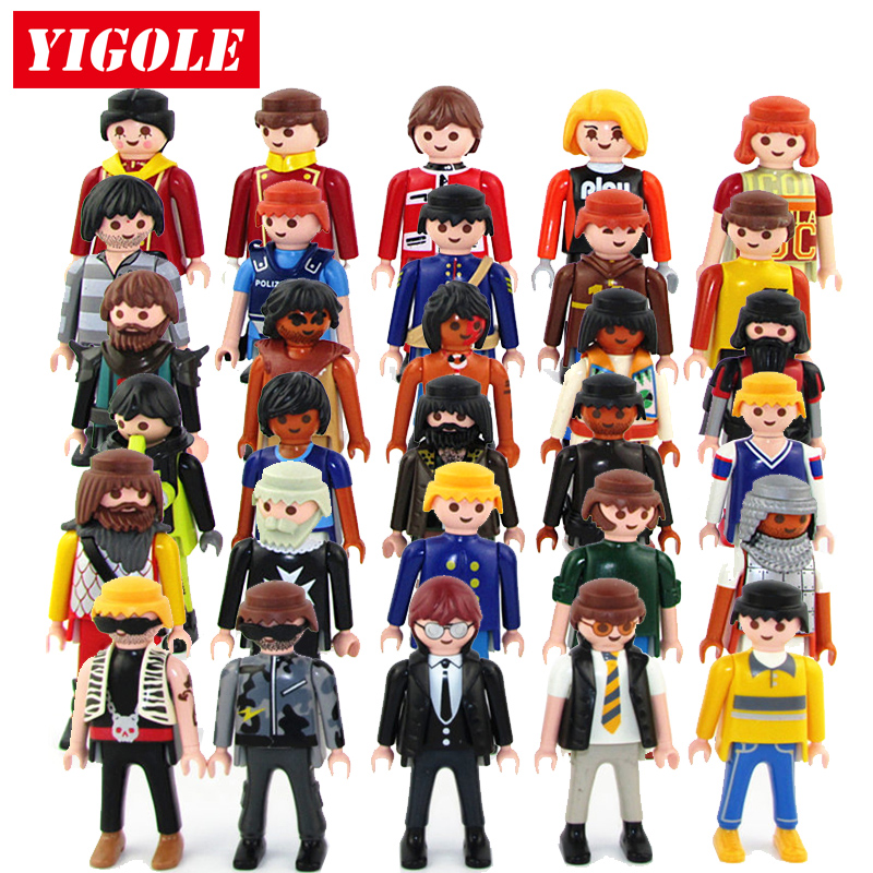 5 Teile/satz Original Playmobil Action Figuren Sommer Spaß
