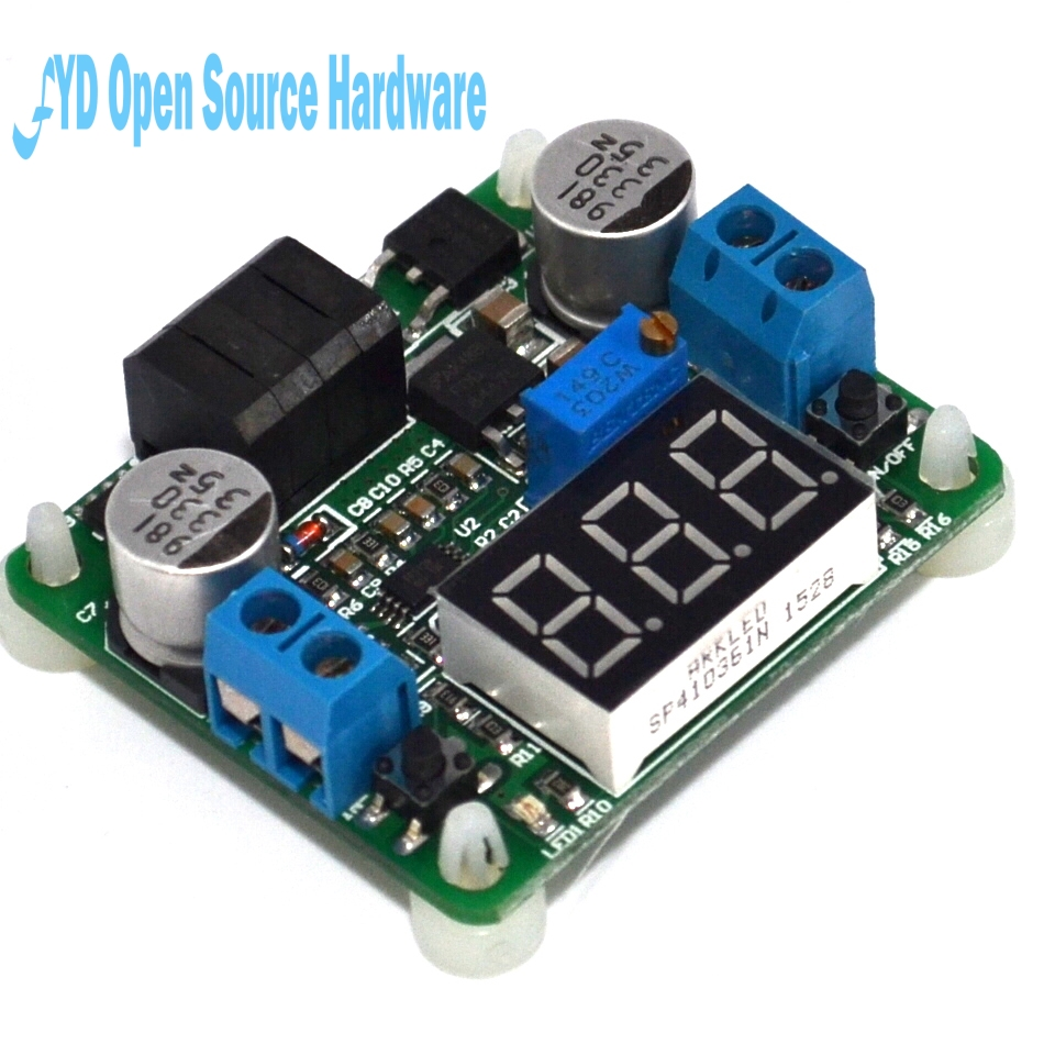1pcs 5-25V to 0.5-25V 25W DC-DC Buck and Boost Voltage Converter  Step Up/Down Power Supply Module With Voltmeter1pcs 5-25V to 0.5-25V 25W DC-DC Buck and Boost Voltage Converter  Step Up/Down Power Supply Module With Voltmeter
