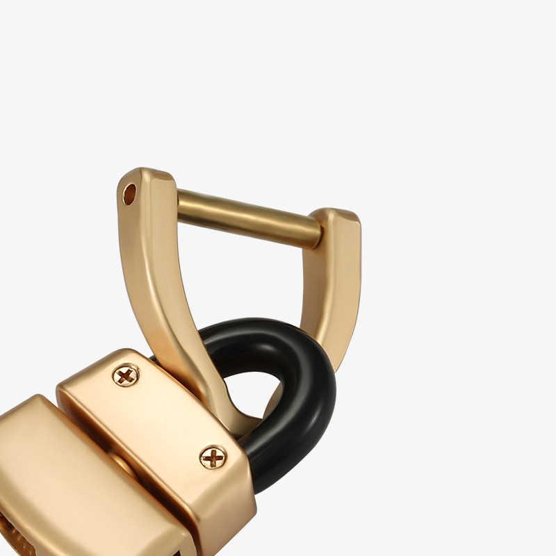 Alta Qualidade Chave de Metal Organizador Carteira de Luxo Carro Chaveiros EDC Bolsa Governanta Chave Inteligente Chave Do Carro Criativo Titular Melhor Presente