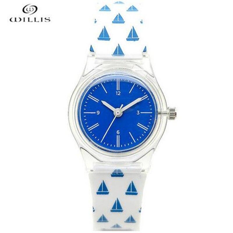 Neue Mode Uhr Frauen Klassische Quarz Silica Gel Handgelenk Uhren Armband Uhren Damen Mädchen Geschenke Bajan Saatleri Feminino S #70 SchöN Und Charmant Uhren