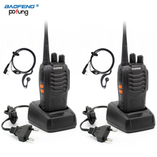 2 PCS Baofeng BF-888S BF 888S BF888S Walkie Talkie Two Way H