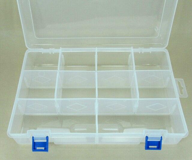 Perfect FREE Shipping Detachable 10 Compartments Cross Stitch Storage Box , Floss  Thread Bobbin Boxes Box