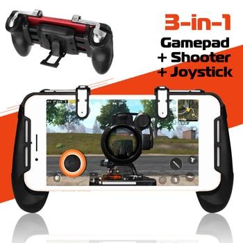b128208383e Ipega 9090 PG-9090 gatillo Pubg Gamepad controlador móvil Joystick para la  PC del teléfono celular Android iPhone juego de consola de Control VR
