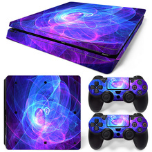 Free Drop Shipping FOR Sony PlayStation 4 Slim Skin (PS4S) – Air Release vinyl decal console mod kit by Skin sticker