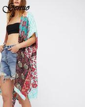 Summer Kimono Cardigan Long Blusa Boho Blouse Women Tops Beach Body Feminino Blusas Mujer De Moda 2019 Kimono Praia Tassel Shirt boho inspirado bordado kimono kaftan frente aberta cintura top praia contraste camisa longa blusa dress summer beach dress