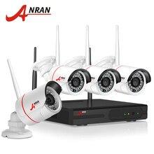 Anran debiut anran zestaw nvr p2p plug and play wireless 720 P HD Zewnętrzna kamera IR Night Vision Bezpieczeństwo Kamera IP WIFI CCTV System