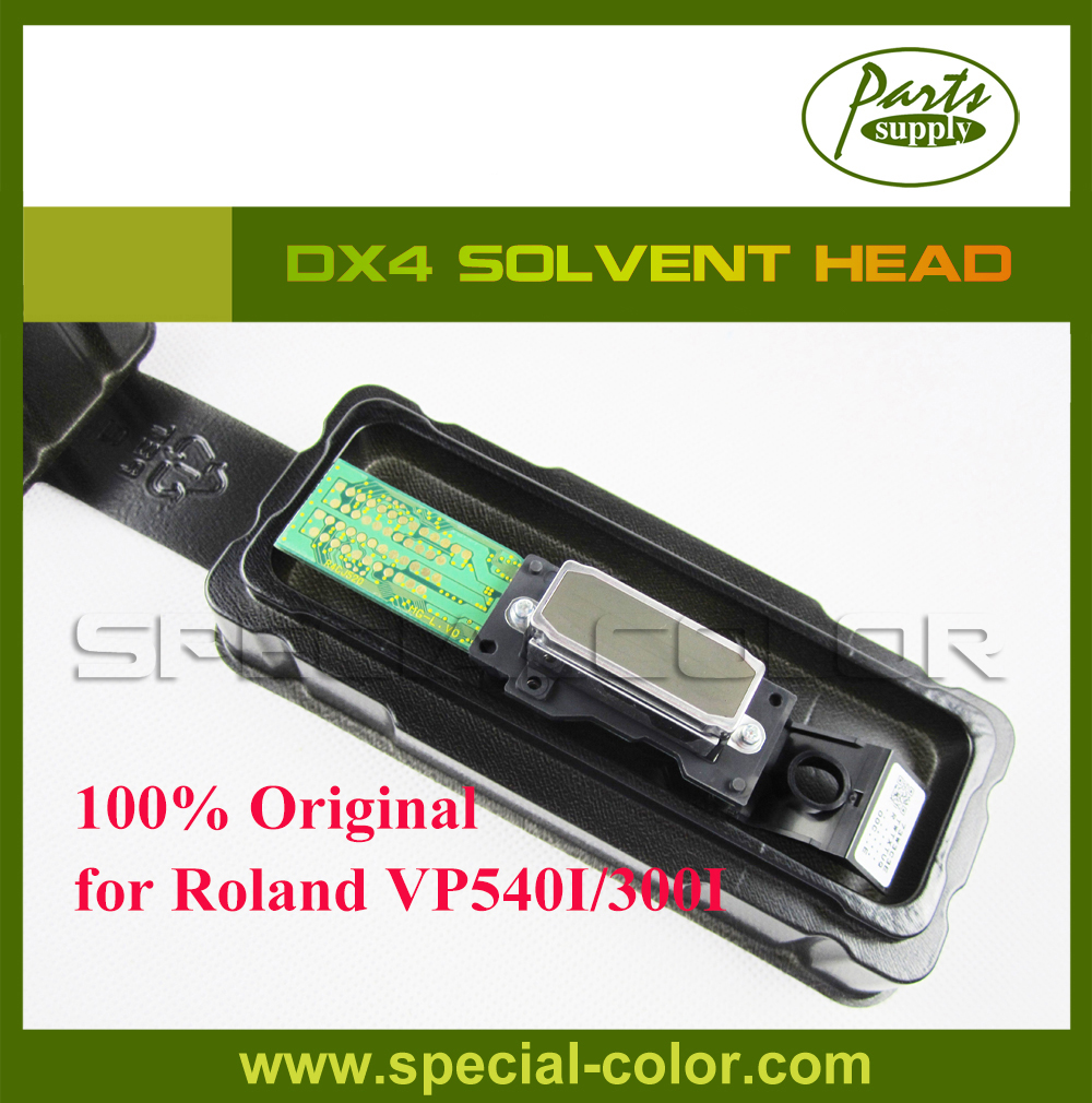 Get 2pcs DX4 small damper as gift) for Epson DX4 Solvent Print Head Roland VP540I/300I Printhead from Japan for roland fj540 fj740 fj640 rs640 sj540 sj740 sj640 eco solvent printhead for dx4