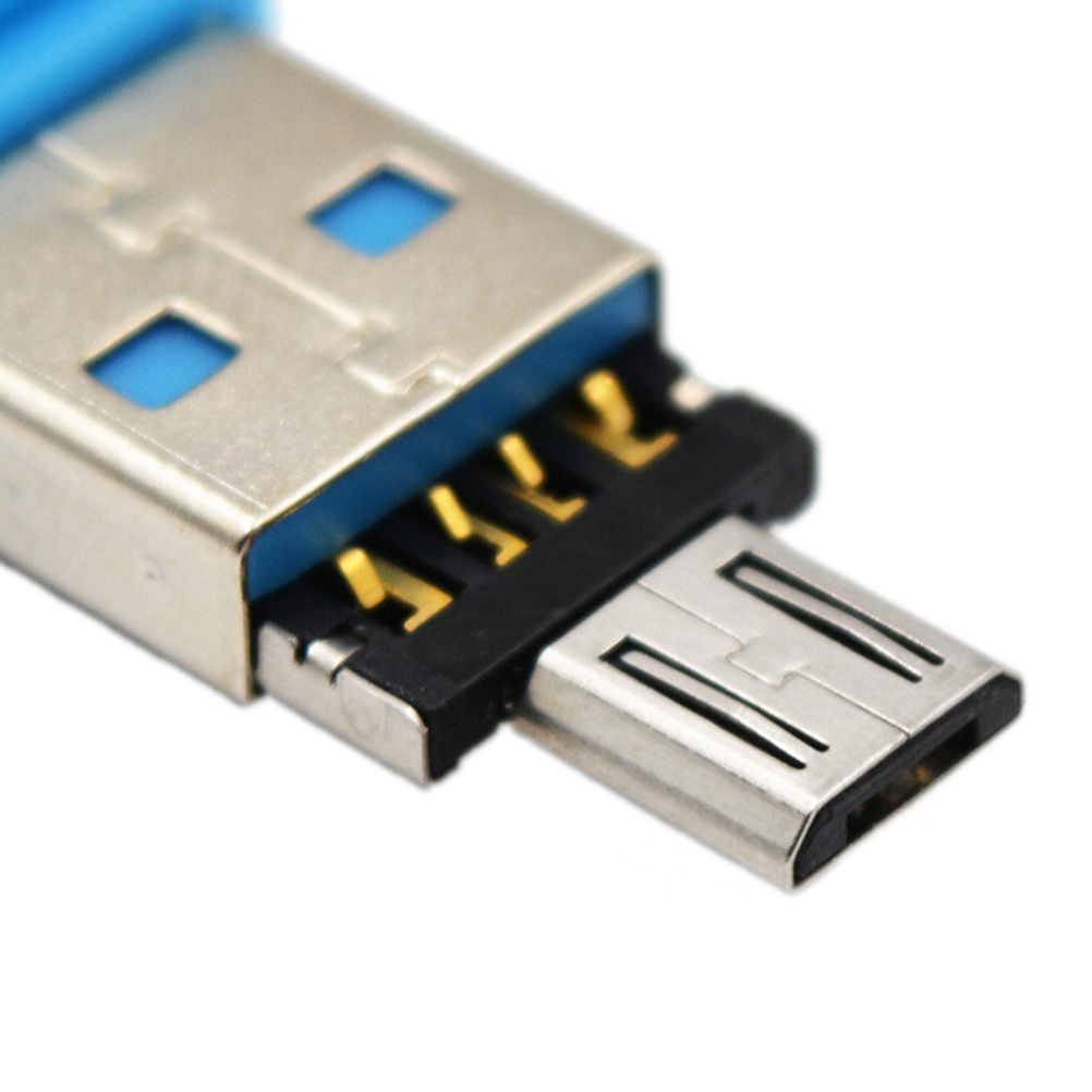 OTG Adapter USB to Micro USB Converter USB Flash Drive Cable Connector For Android Smartphone Tablet PC With OTG 2pcs