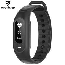 Vestmadra B15P Смарт Браслет артериального давления сна монитор сердечного ритма напоминание секундомер калорий сигнализация touch часы