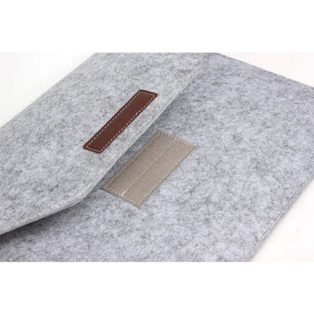 Laptop Sleeve Pouch Bag Voor Apple Macbook (10st) Luxe Retro Grijze - Notebook accessoires - Foto 3