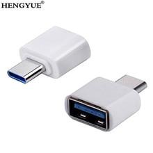 סוג C OTG USB 3.1 כדי USB2.0 מתאם מסוג מחבר עבור Samsung Huawei טלפון במהירות גבוהה מוסמך טלפון סלולרי אבזרים