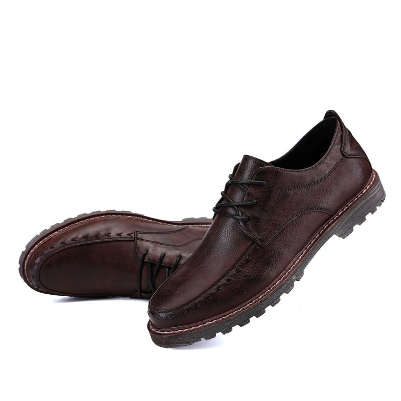 2018 пролетта мъже бизнес марка - Мъжки обувки - Снимка 5