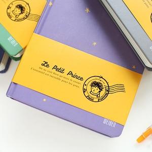 Image 3 - 2018 חדש בציר נסיך הקטן צבע נייר כריכה קשה יומן הערה ספר בית ספר ציוד משרדי יפני מכתבים