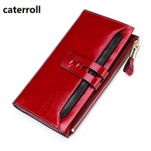 large capacity women wallets real leather female long purse genuine leather women wallets and purses luxury brand money bag