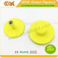 5000pcs/lot 125KHZ TK4100 EM4100 ID RFID Animal Ear Tag