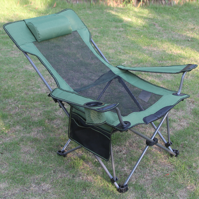 Online buy wholesale reclining camp chair from china for Outdoor fishing
