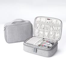 Portable Electronic Accessories Travel case,Cable Organizer